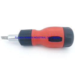 Manico a cricchetto 8 IN1 con punta per cacciavite C-RV, cricchetto Cacciavite (WW-8IN1B)