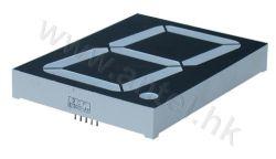 3.0인치 7세그먼트 LED 디스플레이 전자 제품용 단일 숫자
