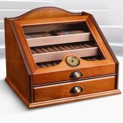 Boîtes en bois de l'artisanat inachevée de cigares Humidor Box