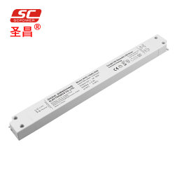0-10 فولت 1-10 فولت قابلة للتخفيت 24 فولت 60 واط، ضوء LED بلاستيكي رفيع للغاية السائق