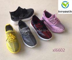 2020 Novo Estilo Flyknit Yeezy impulsionar a injecção de PVC Sole crianças e as sapatas do bebé Ys20-XL6602