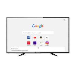 """テレビ50の""""インチLED TVの新しいモデル(ATV、DVB-T/T2/S2) OEMの工場価格の供給スマートなかアナログまたはデジタルTV完全なHD TV"""