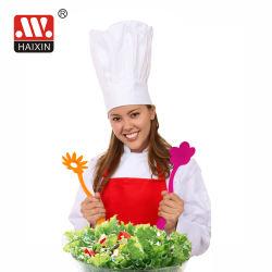 El batidor de ensalada de plástico para la cocina de cuchara y vajilla cubiertos Set de herramientas