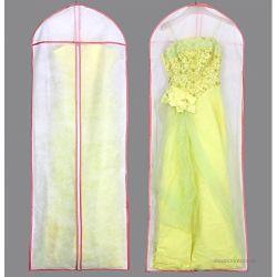 Многоразовый долго размера свадебные платья устраивающих платье крышку мешок для одежды