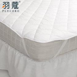 Het in het groot Beste verkoopt Beschermer van de Matras van het Hotel van de Stof van de Polyester van de Goede Kwaliteit de Zachte