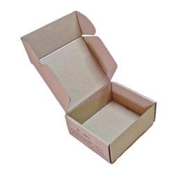 O OEM/ODM Design personalizado Impressão do logótipo do tipo de avião de papel ondulado caixa de papelão para embalagem de mercadorias