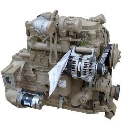 Venta caliente! Cummins QSB4.5 C130 Construcción Original motor completo 97kw 2200rpm