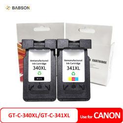 Canon compatible C-340XL GT-GT-C-341XL Pg340XL CL341XL Cartouche d'encre pour Canon PIXMA MG2120 3122 mx439 Cartouche de toner de fournitures de bureau de toner pour imprimante