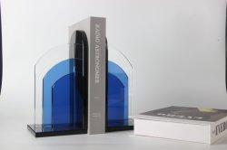 Top ventes Factory Direct Décoration de style moderne en verre en cristal bleu livre se termine pour décoration maison Bar Décoration Design Hôtel de l'école Étudiants