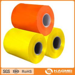 La bobina de aluminio con recubrimiento de color/color/hoja de aluminio con recubrimiento de aluminio con recubrimiento de color strip/revestido de color de las fábricas de aluminio corrugado