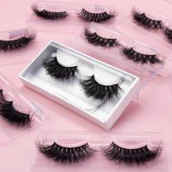 100% жестокость свободно Оптовая 25 мм натуральные ложки липеши Private Label Логотип Custom Box Silk Eyelash Vendor 3D Faux Mink Eyelash
