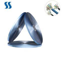 Hangzhou épaisseur 24 microns d'Usine Blue Alu mylar pour blindage des câbles