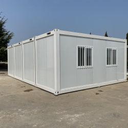 Accueil Flat pack assemblage rapide Installation facile de conteneurs préfabriqués Chambre économique en usine