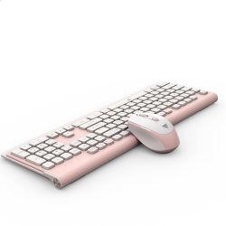 2.4 جيجا هرتز، لوحة مفاتيح وماوس لاسلكيين DPI قابلة لإعادة الشحن 3-قابلة للضبط