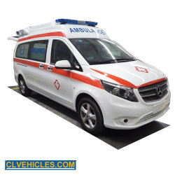 Mercedes Benz UTI Automático do Hospital de transporte do paciente de emergência médica ambulância