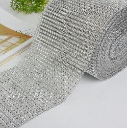 特別価格のスライバネットの衣服の高品質のトリムの鎖水晶ラインストーンの網無し