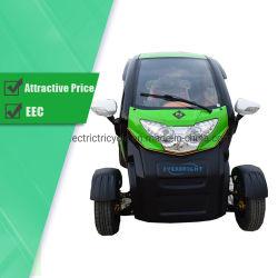 El precio barato al por mayor de 4 asientos Motos Mini Coche eléctrico urbano