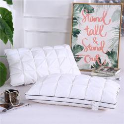 Todos los mixtos de algodón almohada montón Core abajo almohada de algodón puro tridimensional almohada Hotel confortable almohada Botón Core