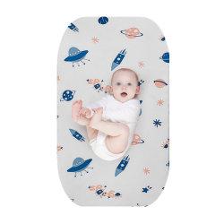 Tissu en polyester étanche pour protecteur de matelas Kids Babies bâche TPU monté feuilles capot lit