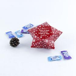 De vouwbare Stapelbare Kosmetische Gift van het Pakket van de Kerstavond siert de Reeks van de Doos