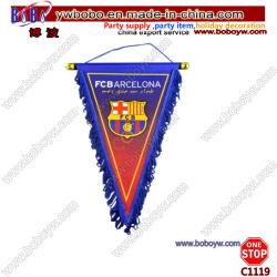 스포츠 클럽 깃발 이벤트 행잉 트라이앵글 배너 사용자 지정 축구 플래그 (C1119)