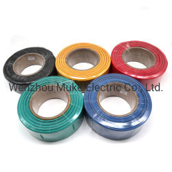 케이블 랩 와이어 튜브 블랙 100 피트 1/4인치 폴리올레핀 2:1 케이블 랩 와이어 튜브 열수축 튜브