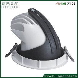 Triac dimmbar 10-100% Lösung Scheinwerfer LED Aluminium 50W Einbaudimmbar LED-Spot-Licht LED-Glühlampe