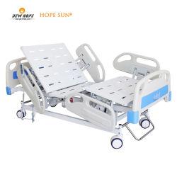 HS5108g clínica de tratamiento del paciente muebles cinco 5 Funciones Electric Medical Cuidados Intensivos UCI Hospital de Enfermería de la terapia de la cama con colchón y la RCP