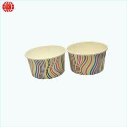 tazza del gelato delle tazze di carta del yogurt Frozen 6oz