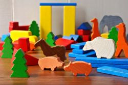 특별 선물 유아토이 나무 장난감 돌