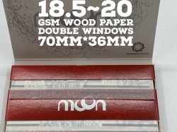 """달 고전적인 빨강: 18.5GSM~20GSM Tobacco Papers. 3개 크기 Available와 """"Cut Corner """""""