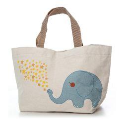 Custom Дизайн логотипа оптовой переработанных Vintage крупных магазинов печати стандартного размера хлопка женская сумка полотенного транспортера