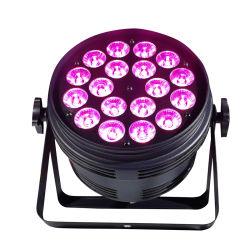 18 Mini escenario de las luces de discoteca DJ Boda Iluminación Profesional Iluminación