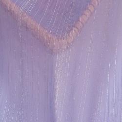 Tissu polyester Fil d'or Crêpe de Lady T-Shirt