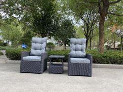 Esterno tutte le stagioni sintetico plastica rattan Wicker divano interno alluminio Mobili soggiorno