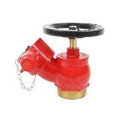 BSP Male Brass Fire Hydrant Oblique Landing Valve