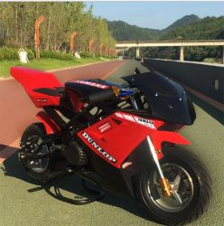単一シリンダー2打撃49cc小型Motoの小型のガソリンバイクの工場