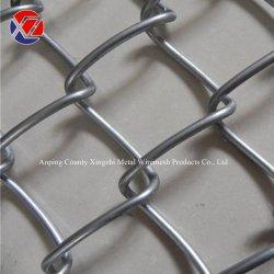 1.8m * 25m 롤 핫 딥 및 전기 Galvanized Chain Mesh Fence (다이아몬드 모양 구멍)