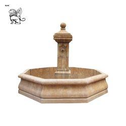 Im Freien antiker natürlicher Steingarten-Marmor-Wasser-Innenbrunnen