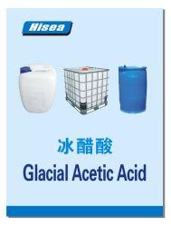 산업 급료 Qingdao Hisea Chem를 위한 고품질 빙하 아세트산 99.85%