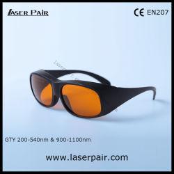 Q-Switched Lasersicherheits-Gläser für 2 Zeile YAG u. Ktp Laser-Instrument mit Spant 33