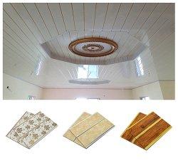 Легкий вес Lambris ПВХ пластика домашнего хозяйства оформление материалов растянуть подвесного потолка ткань