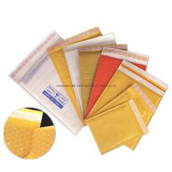 Impression personnalisée Expédition rembourré d'enrubannage Bulle de papier kraft sacs Mailer Jiffy / enveloppe à bulles