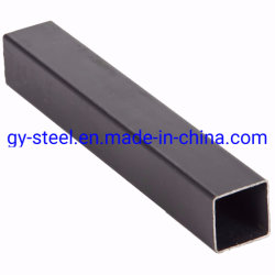 La soudure Prix au mètre Q345 20X40 Poids Ms tuyau rectangulaire
