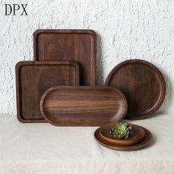 Fabrik Kitchenare Hilfsmittel-Tafelgeschirr-Platten-Großverkauf-Qualitäts-kleines hölzernes Tellersegment