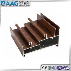 Profils En Aluminium à grain du bois pour la construction