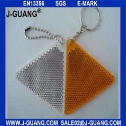 PVC duro riflettente di Keychain (JG-T-04)