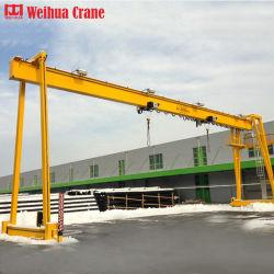 De Europese Mobiele Norm van de Kraan van Weihua 35 Ton Kraan van de Brug van de Balk van het Frame Op rails gemonteerde Één enkele