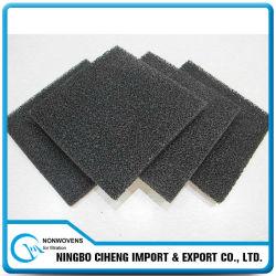 Mousse de filtre à air de polyuréthane d'éponge de garniture de charbon actif
