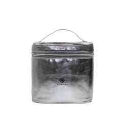 Sacchetto pieno della lavata dell'argento di stampa e sacchetto cosmetico delle donne (YSCY201809-2)